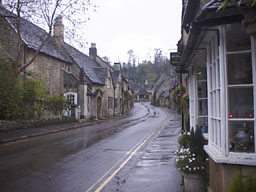 photo: Castle Combe, England